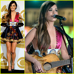 Kacey Musgraves: 'Follow Your Arrow' at Grammys 2014! (VIDEO)