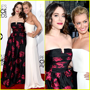 Kat Dennings & Beth Behrs - People's Choice Awards 2014