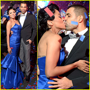 Kat Graham & Cottrell Guidry: Midnight Kiss on New Year's Eve!