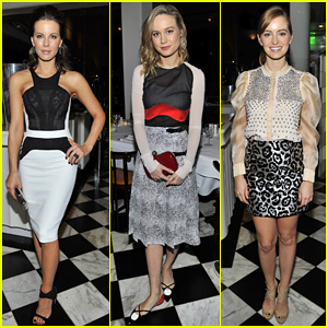 Kate Beckinsale & Brie Larson: Antonio Berardi Private Dinner!