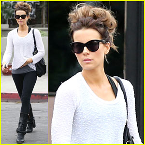 Kate Beckinsale Shops Away After Date Night with Len Wiseman