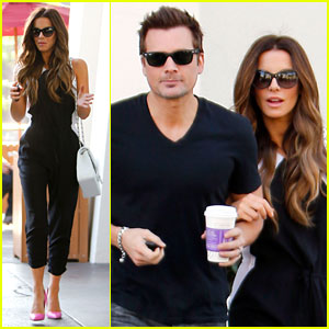 Kate Beckinsale & Len Wiseman: Arm-in-Arm in West Hollywood