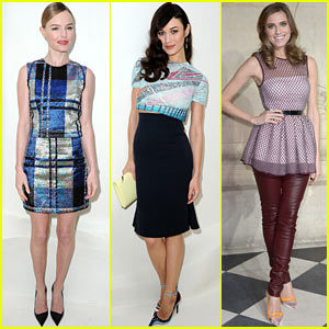 Kate Bosworth & Olga Kurylenko: Christian Dior Fashion Show!
