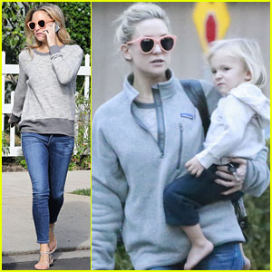 Kate Hudson: Family Day at Brother Oliver's House!