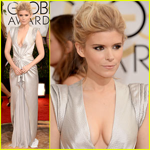 Kate Mara - Golden Globes 2014 Red Carpet