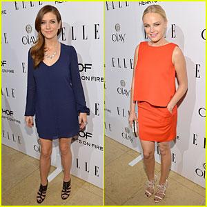 Kate Walsh & Malin Akerman - Elle's Women in TV Celebration 2014