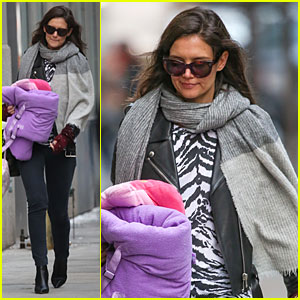 Katie Holmes Goes Back in Time for 'Alterna' Haircare!