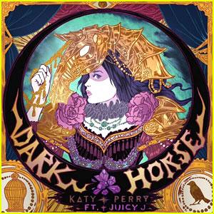 Katy Perry Reveals 'Dark Horse' Single Artwork!
