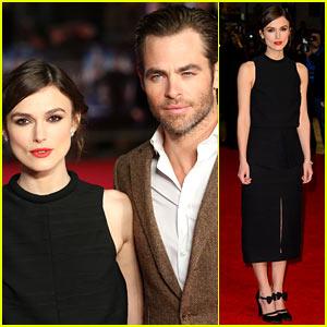 Keira Knightley & Chris Pine: 'Jack Ryan' UK Premiere!