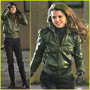 Keri Russell: 'The Americans' Fight Scenes!