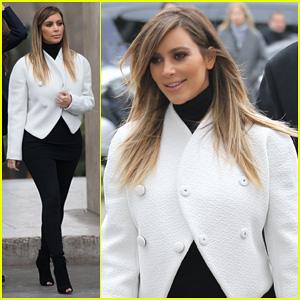 Kim Kardashian: Paris Museum Visits with Azzedine Alaia!