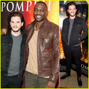 Kit Harington: 'Pompeii' Philadelphia Screening!