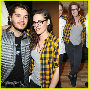 Kristen Stewart & Emile Hirsch: 'Camp X-Ray' Sundance Party!