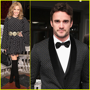 Kylie Minogue & Thom Evans: Dolce & Gabbana London Collections