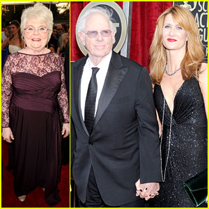 Laura & Bruce Dern: SAG Awards 2014 with June Squibb!