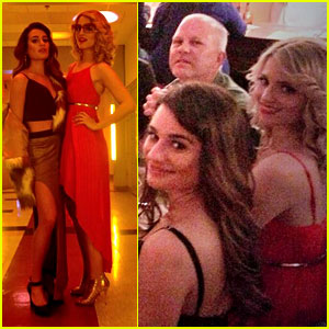 Lea Michele & Dianna Agron: Disco Divas for 'Glee' 100th!
