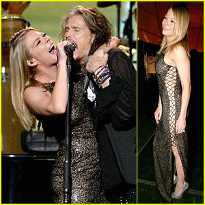 LeAnn Rimes & Steven Tyler: Performers at MusiCares Gala