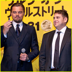 Leonardo DiCaprio Captures 'Wolf of Wall Street' Tokyo Premiere on His iPhone!
