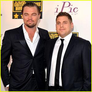 Leonardo DiCaprio & Jonah Hill - Critics' Choice Awards 2014