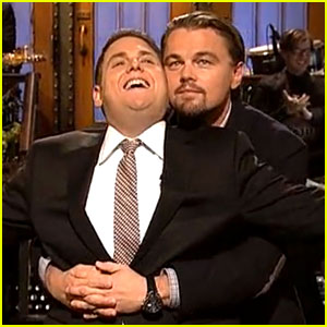 Leonardo DiCaprio & Jonah Hill Recreate 'Titanic' Scene on 'SNL' (Opening Monologue Video)