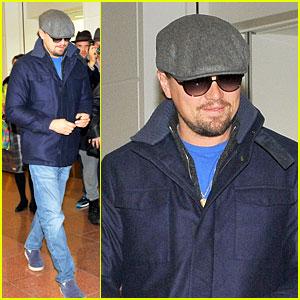 Leonardo DiCaprio Lands in Japan After 'SNL' Appearance!