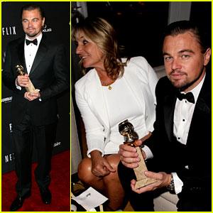 Leonardo DiCaprio Shows Off G