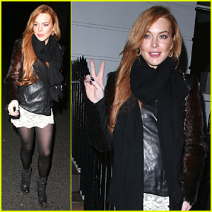 Lindsay Lohan: I Can't Wait to Visit China Again!
