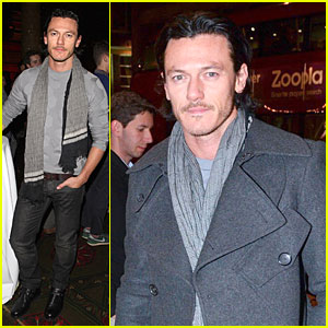 Luke Evans: 'The Weir' Press Night Performance!