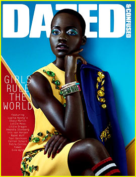 Lupita Nyong'o Covers 'Dazed & Confused' February 2014