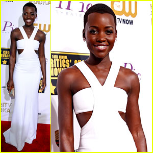 Lupita Nyong'o - Critics' Choice Movie Awards 2014 Red Carpet