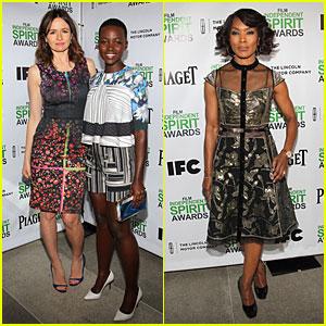 Lupita Nyong'o & Emily Mortimer: Spirit Awards Nominees Brunch!