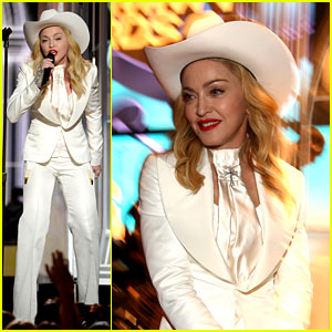 Madonna Performs 'Open Your Heart' at Grammys 2014! (Video)