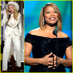Madonna & Queen Latifah Marry Gay Couples at Grammys 2014!