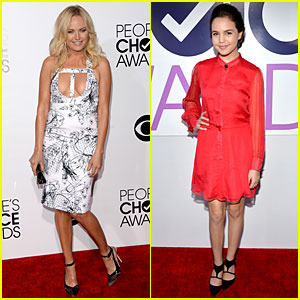 Malin Akerman & Bailee Madison - People's Choice Awards 2014