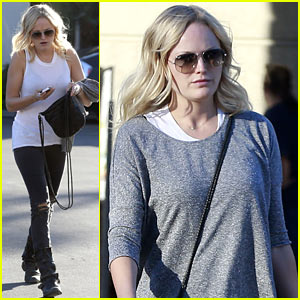 Malin Akerman Shops for Groceries After SAG Awards