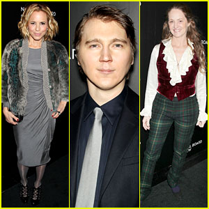 Maria Bello & Paul Dano - National Board of Review Gala 2014