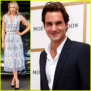Roger Federer & Maria Sharapova: Australia Open Events!