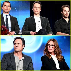 Matt Bomer Debuts New Buzz Cut at 'Normal Heart' TCA Panel!