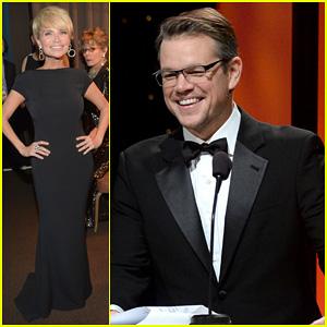 Matt Damon & Kristin Chenoweth: UNICEF Ball 2014!