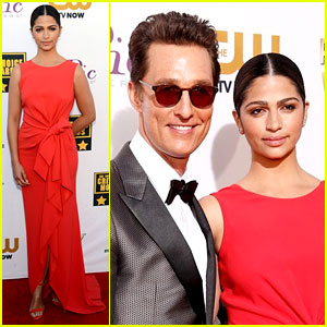 Matthew McConaughey: Critics' Choice Awards 2014 with Camila Alves