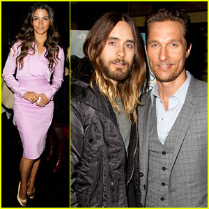 Matthew McConaughey & Jared Leto: 'Dallas' Luncheon in NYC!