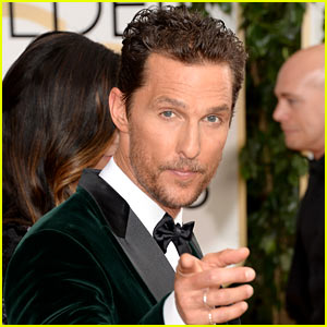 Matthew McConaughey WINS Best Actor (Drama) at Golden Globes 2014!