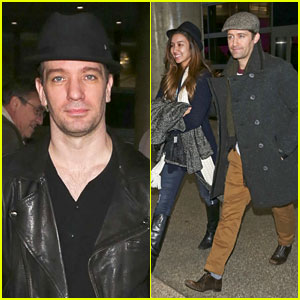 Matthew Morrison & Renee Puente: LAX Landing with JC Chasez!