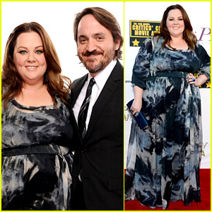 Melissa McCarthy & Ben Falcone - Critics' Choice Awards 2014