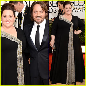 Melissa McCarthy: Golden Globes 2014 with Ben Falcone
