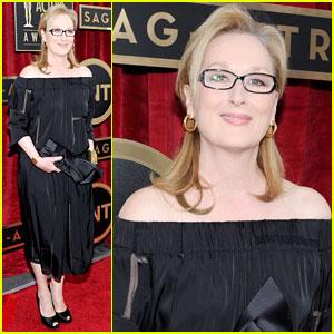 Meryl Streep - SAG Awards 2014 Red Carpet