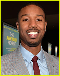 Michael B. Jordan Flashed His 'That Awkward Moment' Co-Stars!