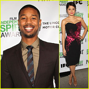 Michael B. Jordan & Melonie Diaz: Spirit Awards Nominees Brunch!