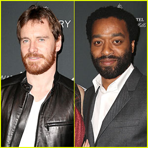 Michael Fassbender & Chiwetel Ejiofor - BAFTA Tea Party 2014