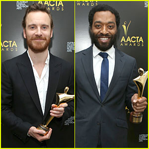 Michael Fassbender & Chiwetel Ejiofor: Winners at AACTA Awards 2014!